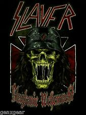 SLAYER cd lgo SLAYTANIC WEHRMACHT Official SHIRT SMALL new