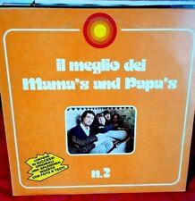 MAMA'S and PAPA'S Il meglio N°2 LP 1976 ITALY MINT- con Inserto