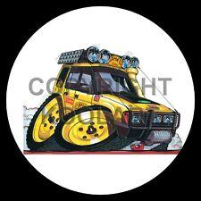 Koolart 4x4 4 x 4 Spare Wheel Graphic Land Rover Discovery Sticker 131