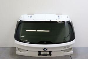 2014 - 2018 BMW X5 TAILGATE LIFTGATE TRUNK LID GATE WHITE PAINT CODE 300U OEM