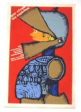 1976 Cuban ORIGINAL Movie PosterLONG LIVE Spirits.Czech film Oldrich Lipsky art