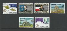 1980 Anniversaries set of 6  Complete MUH/MNH
