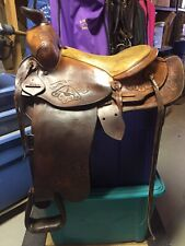 Fallis Style Western Saddle - A Treat For Classic Saddle Lovers!
