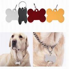 Personalized Customised Pet ID Tags Dog Cat Animal Name Charm Metal Alloy