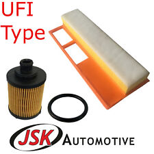 Service Kit Air & Oil Filters UFI Type for Fiat 1.3 Diesel MultiJet JTD w Euro 4