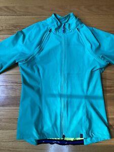 New Specialized Deflect Hybrid Jacket Size M Full Zip Women's Emerald Green NWT