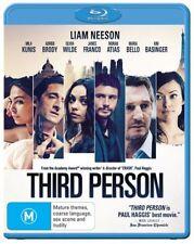 *New & Sealed* Third Person (Blu-ray, 2014) Region B Aus