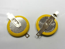 2 x CR1616 Lithium Batteries with Solder Tabs for GameBoy / Color / Advance