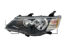TYC Left Side Halogen Headlight Assembly For Mitsubishi Outlander 2007-2008