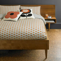 Orla Kiely Ditsy Cyclamen Duvet Cover 100% Cotton Bedding 200 Thread Count