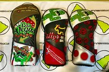 Scotty Cameron Patchwork Headcover Set CT Mexican Open RARE