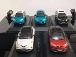1/43 Toyota C-HR CHR Diecast SUV Car Model Toys kids gift Black/Yellow/Red/White
