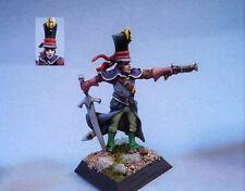 Confrontation painted miniature Cadwallan Noble