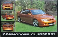 (LAMINATED) HOLDEN COMMODORE CLUBSPORT HOSV R8 250 LS1 POSTER (61x91cm)  PICTURE