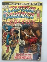 CAPTAIN AMERICA #164 MARVEL 1973 BRONZE AGE COMIC BOOK 1ST APP NIGHTSHADE!