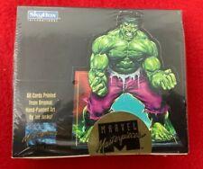1992 Marvel Masterpieces SkyBox Trading Cards -Sealed 1st Ser.# 252,438 of 350k