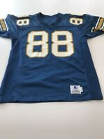 Game Worn Used Pittsburgh Panthers Pitt Football Jersey Size 48 #88
