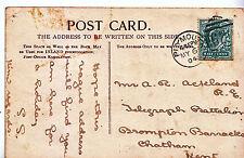 Genealogy Postcard - Family History - Ackland - Brompton Barracks Chatham  A1128