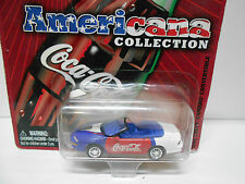 Chevrolet Camaro convertible 2000 Coca-Cola americana Johnny Lightning 1/64