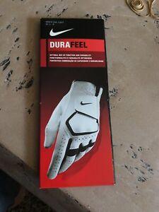 Nike DuraFeel Golf Glove Cadet Left Small 22 cm Men's White - NEW!!