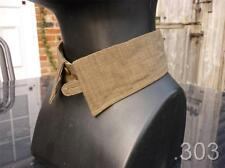 """WWII British Military Officers Khaki Spare Collar for Collarless Shirt 16"""""""