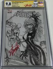 Amazing Spiderman #15 B/W Aspen Turner Sketch Variant Signed Stan Lee CGC 9.8 SS