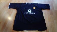 Manchester United 2005 Black Nike Football Shirt - Size XXL - Rooney / Ronaldo