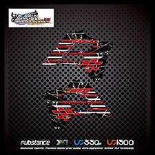 Gas gas ec 02-06 Rayas Rad Negro Decal Sticker MX (292)