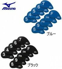 Mizuno Iron Cover Number Another 10-piece Set Unisex Black or Blue From Japan