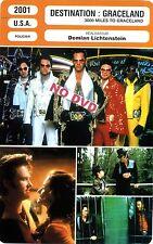 Fiche Cinéma Movie Card. Destination Graceland/300 miles to Graceland (USA) 2001