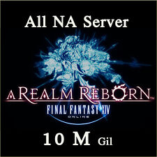 FINAL FANTASY XIV 10000000 GIL FF14 10 Million FFXIV All NA Server PC PS3 PS4