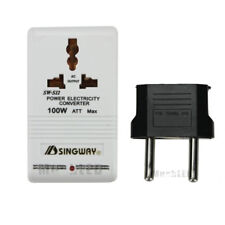 110V/120V to 220V/240V Step-Up&Down Voltage Converter 100W Transformer Travel