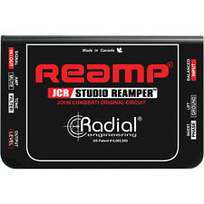 Radial Engineering Reamp JCR Passive Studio Re-amping Device New