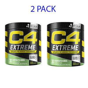Cellucor C4 Extreme - 30 Servings - Sour Batch BROS (2 PACK) ** FREE SHIPPING**