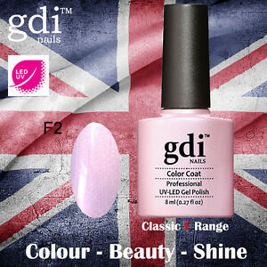 UK SELLER Gdi Nails Classic Range F02 UV/LED Gel Soak Off nail polish