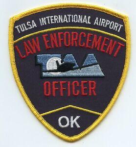TULSA OKLAHOMA OK INTERNATIONAL AIRPORT POLICE PATCH