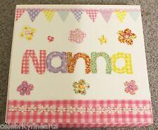 NAN nanna Block notes piccolo quadrato SCRITTURA ANNOTARE Blocchetto di carta