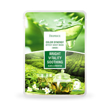 [Deoproce] Color Synergy Effect Sheet Mask Green Aloe and Green Tea 20g*5ea