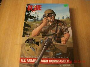 Hasbro GI JOE Classic Collection U.S. Army Tank Commander Action Figure 1997NIB
