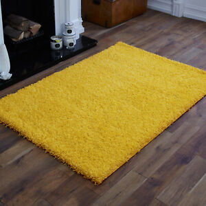SMALL X LARGE SIZE THICK MODERN RUGS NON SHED SHAGGY RUG Round Runner THICK PILE