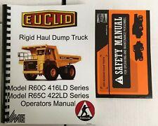 Euclid R60C 416LD / R65C 422LD Series Operators Manual