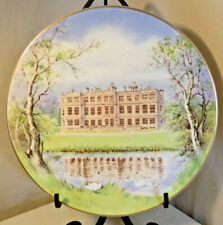 Collector Plate 'Longleat House' Royal Doulton, 1977