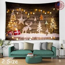 Art Christmas Print tapestry Wall Hanging psychedlic Tapestry Home Wall Decor