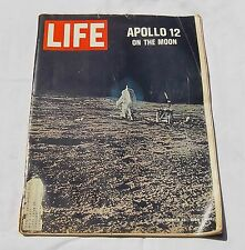 LIFE MAGAZINE DECEMBER 12, 1969 APOLLO 12 ON THE MOON..... g