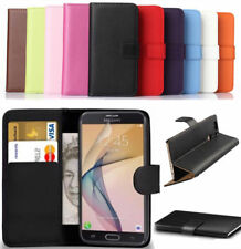 Premium Leather Flip Book Wallet Case Cover For Samsung Galaxy J3 2016 + Free SP