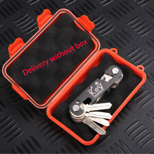 Portable Aluminum Key Buddy- Smart Holder Organizer Clip Folder Chain Tools Sets