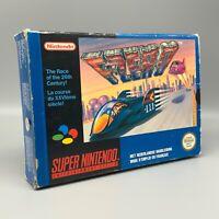Jeu - F Zero - Nintendo - PAL FAH - SNES - Super Nintendo