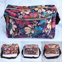 Women's Cross Body Shoulder Bag Handbag Hobo Messenger Nylon Wallet Purse Tote