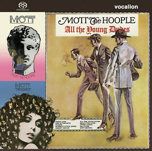 Mott the Hoople The Hoople, All the Young Dudes & Mott SACD Hybrid Multi-Channel