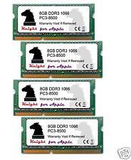 32GB KIT DDR3 1066 MHZ PC3 8500 (4X8GB) SODIMM FOR APPLE iMAC